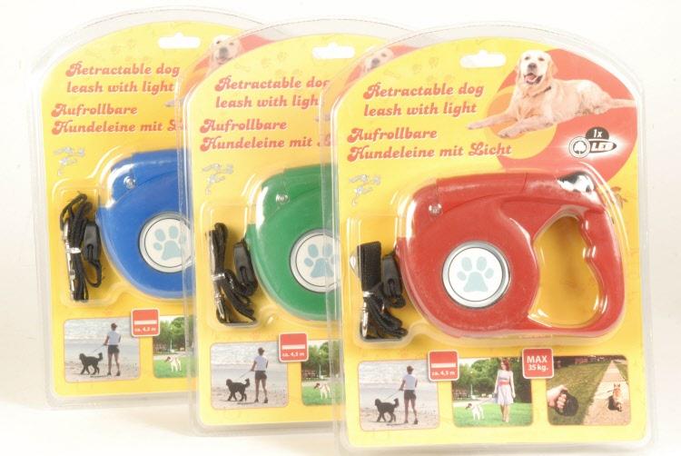 Hondenriem Met Licht : Hondenriem met led licht